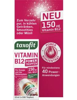 Taxofit Vitamin B12 Power Tropfen