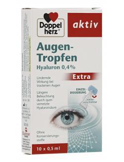 Doppelherz Augen-Tropfen Hyaluron 0,4%