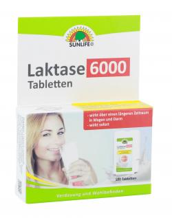 Sunlife Laktase 6000 Tabletten