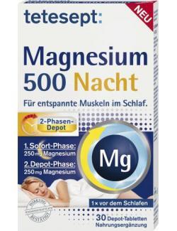 Tetesept Magnesium 500 Nacht