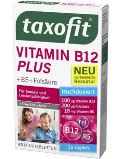 Taxofit Vitamin B12 Plus Mini-Tabletten