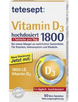 Tetesept Vitamin D3 1800 hochdosiert