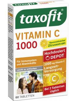 Taxofit Vitamin C 1000 Depot Tabletten