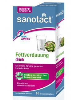 Sanotact Fettverdauung Drink