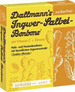 Dallmann's Ingwer-Salbei-Bonbons mit Vitamin C und Zitrone