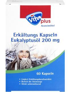 Vita Plus Erkältungskapseln Eukalyptusöl 200mg
