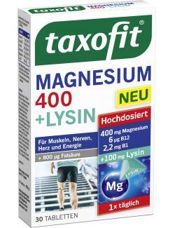 Taxofit Magnesium 400 + Lysin Tabletten