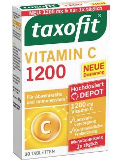 Taxofit Vitamin C 1200 Depot-Tabletten
