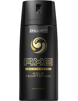 Axe Gold Temptation Deodorant Bodyspray (150 ml) - 8712561466264