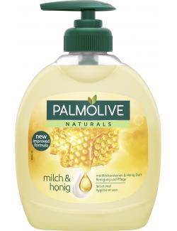 Palmolive Naturals Seidig-Zarte Pflege Milch und Honig Flüssigseife (300 ml) - 8714789939667