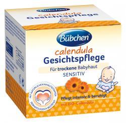 Bübchen Calendula Gesichtspflege für trockene Babyhaut sensitiv