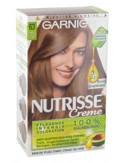 Garnier Nutrisse Creme Intensiv Coloration 63 dunkles Goldblond (1 St.) - 3600541375369