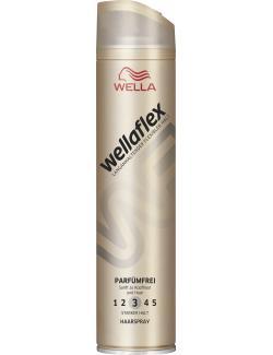 Wella Wellaflex Haarspray Parfümfrei starker Halt (250 ml) - 5410076958610