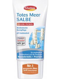 Schaebens Totes Meer Salbe gegen Pickel (75 ml) - 4003573180861