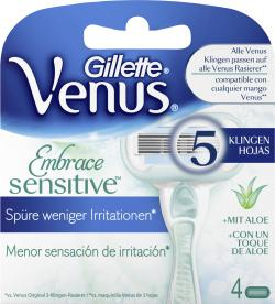 Gillette Venus Embrace sensitive Klingen (4 St.) - 7702018353019