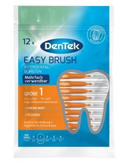 DenTek Easy Brush Interdental-Bürsten extra fein Minze