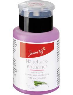 Jeden Tag Nagellackentferner Aloe Vera ohne Aceton (125 ml) - 4306188330516