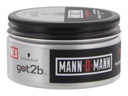 Schwarzkopf got2b Mann-o-Mann Forming Paste (100 ml) - 4015001006599
