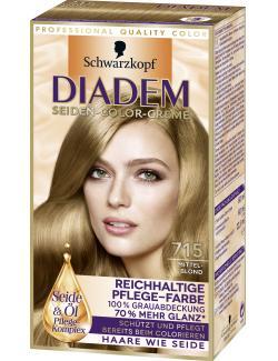 Diadem Seiden-Color-Creme 715 mittelblond (142 ml) - 4015001010244