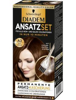 Schwarzkopf Diadem Ansatzset A3 rotbraun (22 ml) - 4015001010138