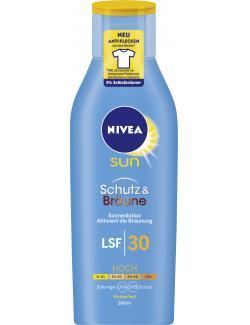 Nivea Sun Protect & Bronce Lotion LSF 30 (200 ml) - 4005900113368