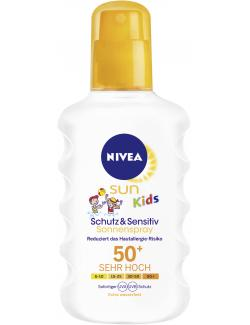 Nivea Sun Kids Protect & Sensitive Sonnenspray LSF 50+ (150 ml) - 4005900114044