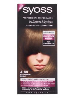 Syoss Professional Performance Coloration 4-88 bernsteinbraun (115 ml) - 4015001005936