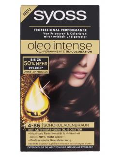 Syoss Oleo Intense Coloration 4-86 schokoladenbraun (115 ml) - 4015001005806