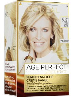 L'Oréal Excellence Age Perfect 9.31 helles Goldblond