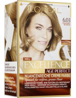 L'Oréal Excellence Age Perfect 6.03 strahlendes Hellbraun (1 St.) - 3600522865032