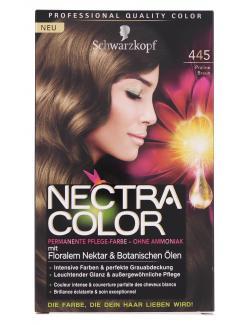 Schwarzkopf Nectra Color Pflege-Farbe 445 Praliné braun (143 ml) - 4015001002379