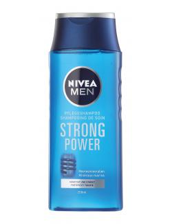 Nivea Men Strongpower Pflegeshampoo (250 ml) - 4005900137791
