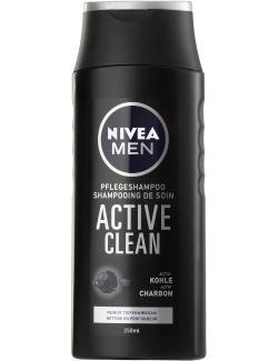 Nivea Men Active Clean Pflegeshampoo (250 ml) - 4005900137906