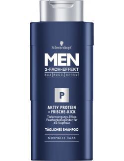 Schwarzkopf Men Aktiv Protein + Frische-Kick Shampoo