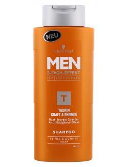 Schwarzkopf Men Taurin Kraft & Energie Shampoo (250 ml) - 4015001012835