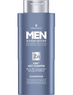 Schwarzkopf Men Shampoo Zink Anti-Schuppen (250 ml) - 4015001012859