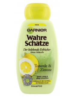 Garnier Wahre Schätze belebendes Shampoo Tonerde und Zitrone