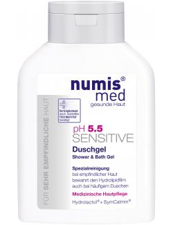 Numis med pH 5,5 Sensitive Duschgel (200 ml) - 4003583187171