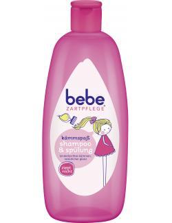 Bebe Zartpflege Kämmspaß Shampoo & Spülung (300 ml) - 3574661213156
