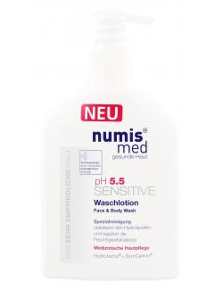 Numis med ph 5,5 Sensitive Waschlotion (200 ml) - 4003583183272