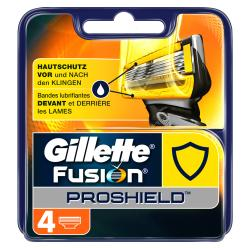 Gillette Fusion Proshield Klingen (4 St.) - 7702018389506