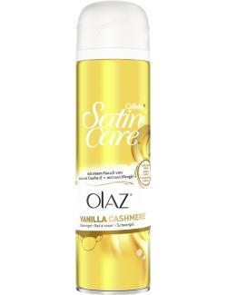 Gillette SatinCare & Olaz Vanilla Cashmere (200 ml) - 7702018399505