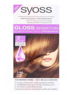 Syoss Gloss Sensation Intensiv-Tönung 7-86 Toffee Blond (115 ml) - 4015100182064