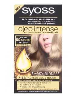 Syoss Oleo Intense Coloration 7-58 kühles Beigeblond (115 ml) - 4015100180640