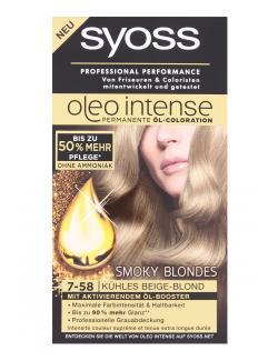Syoss Oleo Intense Coloration 7-58 kühles Beigeblond (115 ml) - 4015100180640