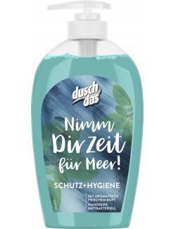 Duschdas Nimm Dir Zeit für Meer Schutz + Hygiene Flüssigseife