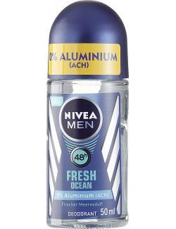 Nivea Men Fresh Ocean Deo Roll-On (50 ml) - 42299363