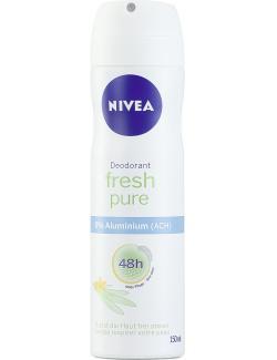 Nivea Fresh pure Deodorant Spray (150 ml) - 4005900274663