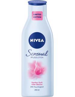 Nivea Sensual Sanfter Duft roter Beeren (200 ml) - 4005900302144