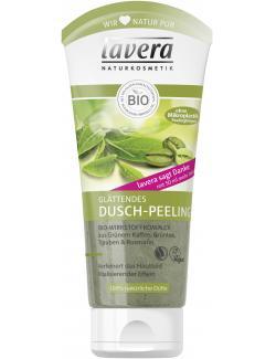 Lavera Dusch-Peeling mit Grünem Kaffee, Grüntee, Trauben & Rosmarin (200 ml) - 4021457615018